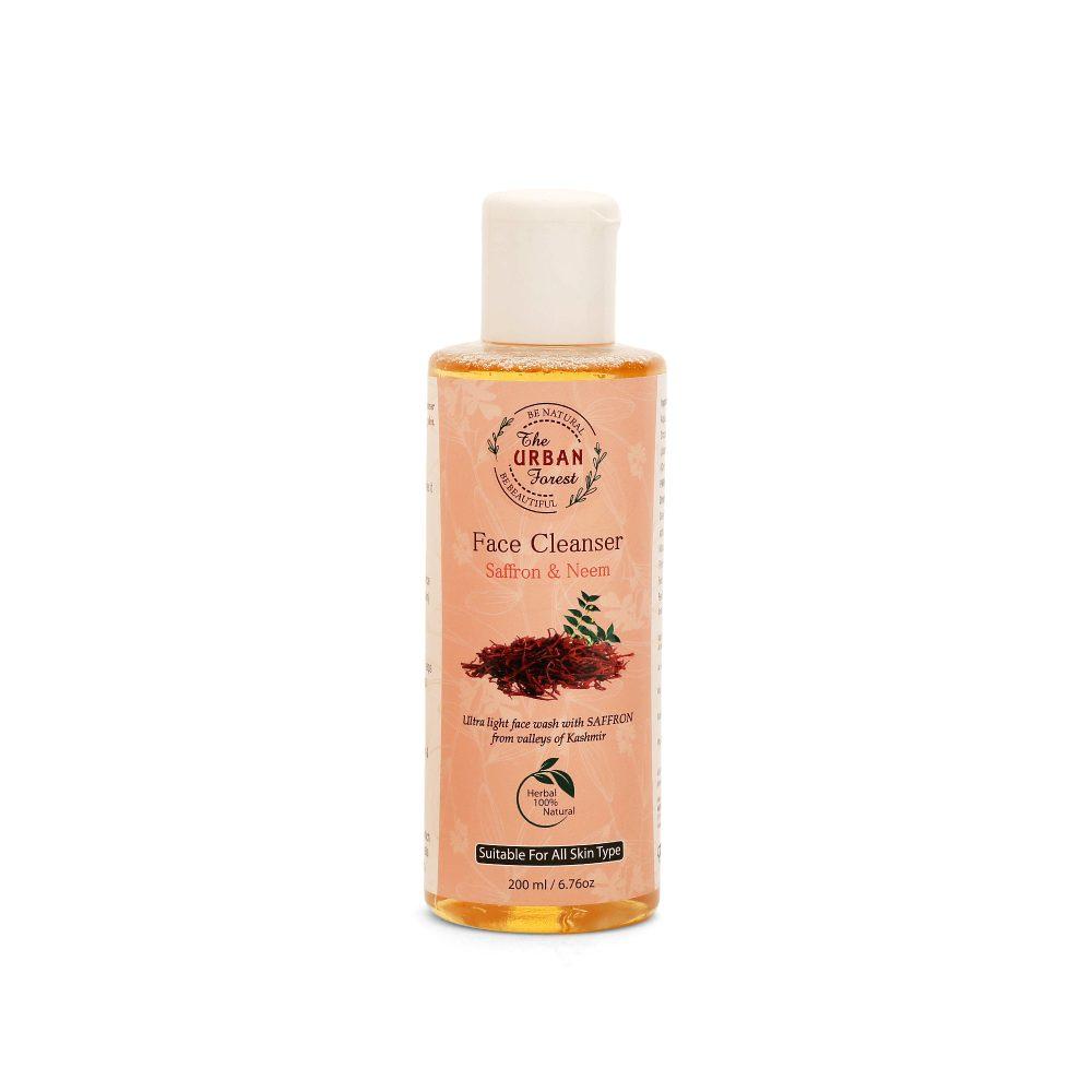 Neem & Saffron Face Cleanser
