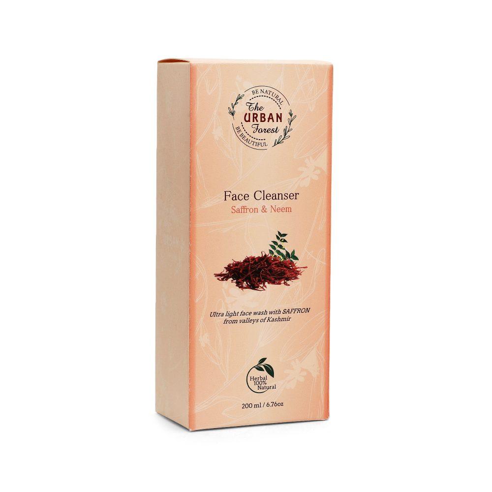Neem & Saffron Face Cleanser (3)